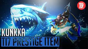 kunkka immortal prestige item shark boat ultimate dota 2 youtube