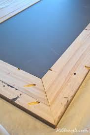 diy wood mirror frame. Unique Mirror Modern DIY Rustic Mirror Frame Tutorial Take A Plain 5 Cheap Framed  And Transform On Diy Wood Mirror Frame H