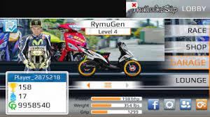 drag racing bike edition apk mod motor indonesia for android