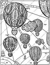 hot air balloon coloring page.  Page Hot Air Balloon Coloring Page By Cheekydesignz  For O