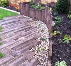garden design using sleepers. woodstone sleepers by conway landscapes of bishop stortford garden design using