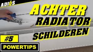 Schilderen Achter Radiator Verwarming Powertips5 Youtube