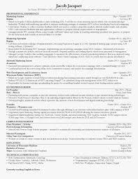 Tableau Resume Examples