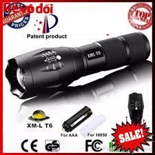 HC MART SG] Đèn pin Police AMY XML-T6 MỚI siêu sáng- Đèn pin mini chống  nước- Đèn pin 5 chế độ sáng - Đèn pin Nhãn hàng No brand