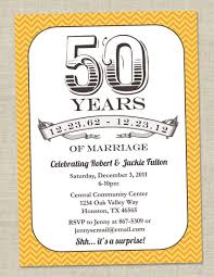 program for 50th birthday celebration