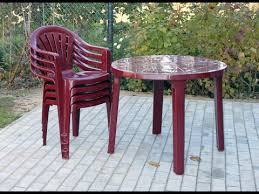 plastic outdoor chairs can plastic outdoor chairs be painted