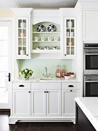 upper glass kitchen cabinets