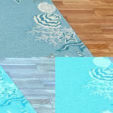 bathroom bathroom area rugs seashell nautical runners starfish teal bathroom area rugs seashell nautical runners