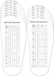 Women S Shoe Width Chart Shoes Measurement Chart For Printable Adult Men And Woman