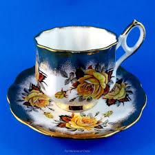 Decorative Cups And Saucers Beautiful Elizabethan Yellow Tea Rose Tea Cup and Saucer Set Tea 51