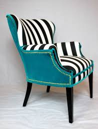 black or white furniture. sold black and white striped vintage round wing back by element20 or furniture r