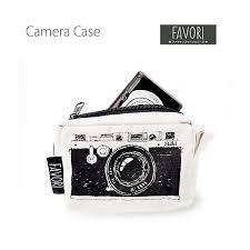 メール便対応favori デジカメポーチカメラケース人気の手書き風イラストがおしゃれでかわいいカメ