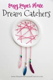 What Is Dream Catcher Easy Paper Plate Dream Catcher Tutorial Smashed Peas Carrots 79