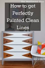 clean line furniture. Interesting Furniture How To Paint Perfectly Clean Lines On Furniture Intended Line Furniture R