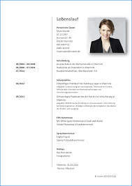6 Lebenslauf Inhalt Business Template