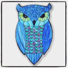 owl stained glass patterns new 25 best ideas about owl templates on of owl stained