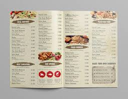 Restaurant Menu Format Free 35 Restaurant Menu Templates Free Sample Psd Docs Pages Free
