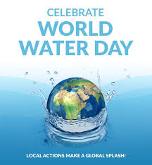 world water day scarce celebrate globe splash world water day