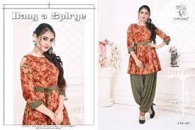 Banarasi Kurti Ke Design Ladyview Patiyala Nx Pure Rayon Print Latest Kurti With