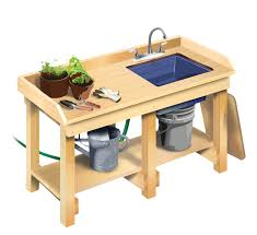 Potting Bench Plans How To Build A Workbench Diy Basements Mother Earth News And