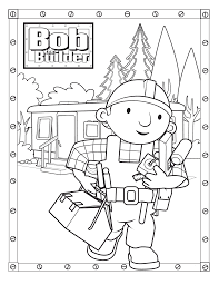 Small Picture Free Printable Bob The Builder Coloring Pages For Kids