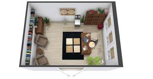 home office planning. planning a home office or study 3d floor plan c