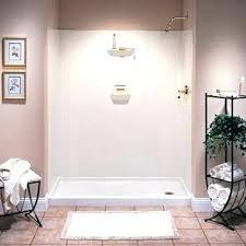 swanstone shower kit shower walls wall kit white installation swanstone shower panels installation