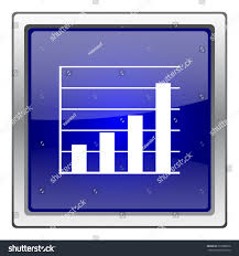 Atmel Stock Chart Chart Bars Icon Internet Button On Stock Vector 333388556