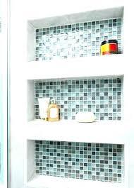 built in bathroom shelves bathtub built in bathroom shower shelves