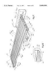 patent us5686004 pizza oven conveyor google patents patent drawing