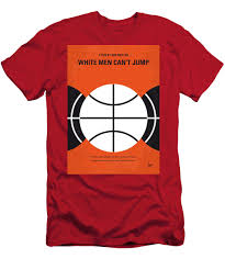 No436 My White Men Cant Jump Minimal Movie Poster Mens T Shirt Athletic Fit