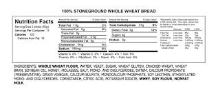 100 Stone Ground Whole Wheat Bread Natures Harvest