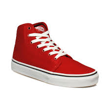 vans shoes red and white. new discount vans 106 hi high top shoes red true white (unisex) and