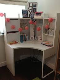 item7 ikea micke corner workstation white by chinagirl418