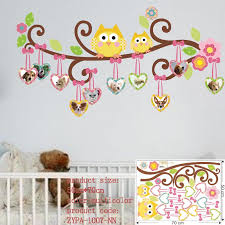 owl decor for kids room large size animal wall stickers for kids room decorations monkey owl on wall art stickers for childrens rooms with owl decor for kids room large size animal wall stickers for kids
