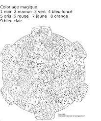 Maternelle Coloriage Magique Oiseau Sur La Branche Et Poisson