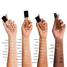 foundation shades nars