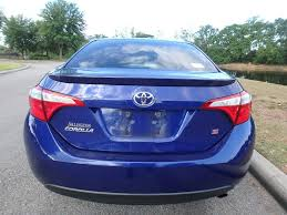2014 Used Toyota Corolla 4dr Sedan CVT S Plus at Central Florida ...