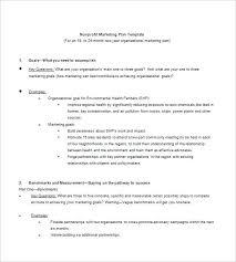 Non Profit Resume How To Write A Nonprofit Marketing Plan Experts