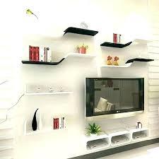 wall shelves for components elegant floating above with corner bookshelf white shel