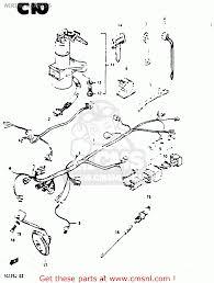suzuki rg125a 1988 j e04 e15 e17 e18 e30 wiring harness wiring harness schematic