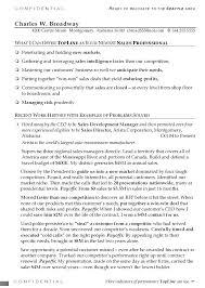 Resume B2b Sales Resume