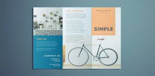Ebrochure Template Simple Tri Fold Brochure Free Indesign Template