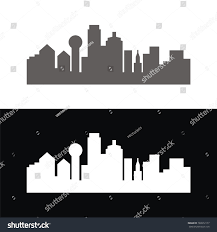 Dallas Logo Design Skyline Logo Dallas Logo Design Template Stock Vector