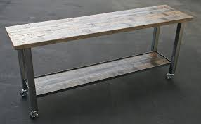 raw steel furniture. Raw Steel And Oak Console Table Furniture