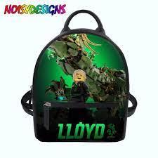 Women Backpack 3D Ninjago Games Mini Backpack Teenager Girls Boys ...