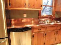 copper kitchen countertops aesthetic and elegant home stunning countertop ideas copper kitchen countertops