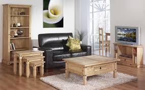Living Room Furniture Oak Living Room Sofa Covered With Leather Black Living Room Carpet