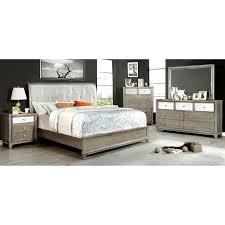 furniture of america aragon faux crocodile 7 drawer dresser with