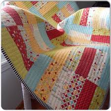 Jelly Roll Quilt - straight line quilting | Quilts | Pinterest ... & Jelly Roll Quilt - straight line quilting Adamdwight.com